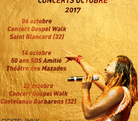 concert octobre gospel walk