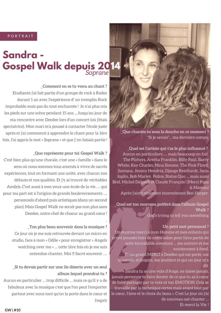 Sandra GW10