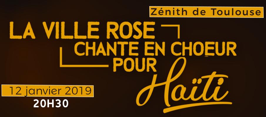Gospel walk la ville rose chante en choeur pour haïti zenith