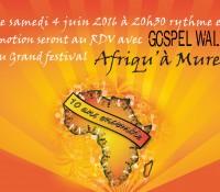 RDV avec GOSPEL WALK au grand festival Afriqu'à Muret