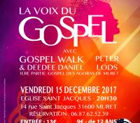 Les concerts de Décembre 2017 Gospel Walk
